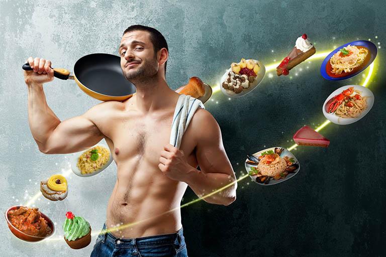 Thay đổi chế độ ăn uống để giảm yếu sinh lý cho phái mạnh