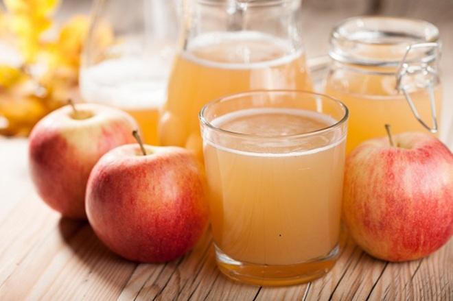 Táo là 1 trong những món giảm mỡ bụng từ nước ép trái cây