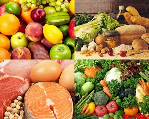 Bổ sung các dưỡng chất quan trọng cho cơ thể bằng rau xanh, trái cây... trong các bữa ăn.