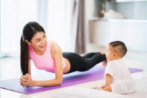 3 mẹo vặt giúp việc giảm cân sau sinh thành công