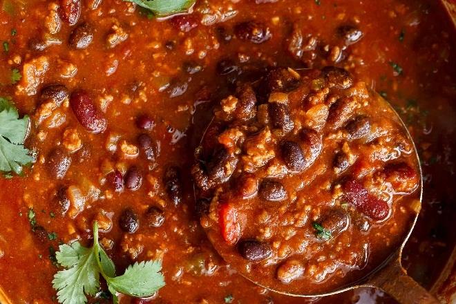 Bò hầm đậu đỏ giảm chất béo trong cơ thể