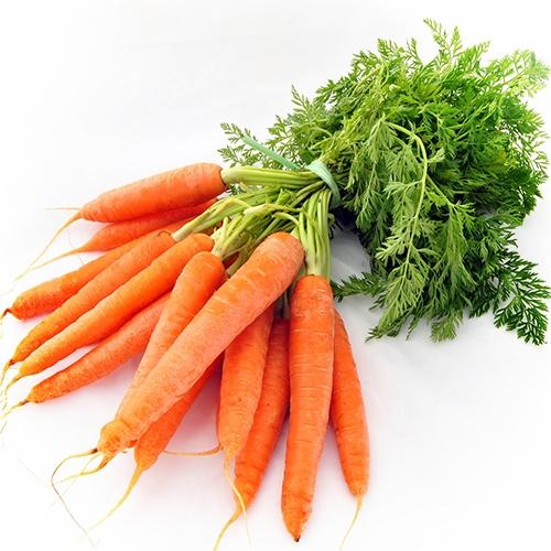 Cà rốt giúp không còn cảm giác đói
