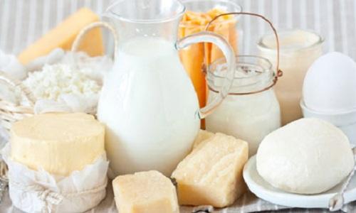 Các thực phẩm từ sữa + sữa chua