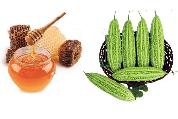 Công thức giảm cân bằng mướp đắng và mật ong
