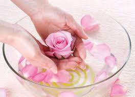 Giảm cân bằng cách xông hơi với hoa hồng