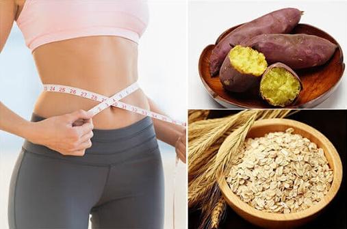 Giảm cân nhanh chóng hiệu quả bằng yến mạch + khoai lang