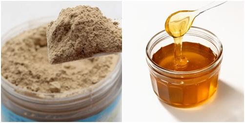 Hỗn hợp bùn khoáng và mật ong