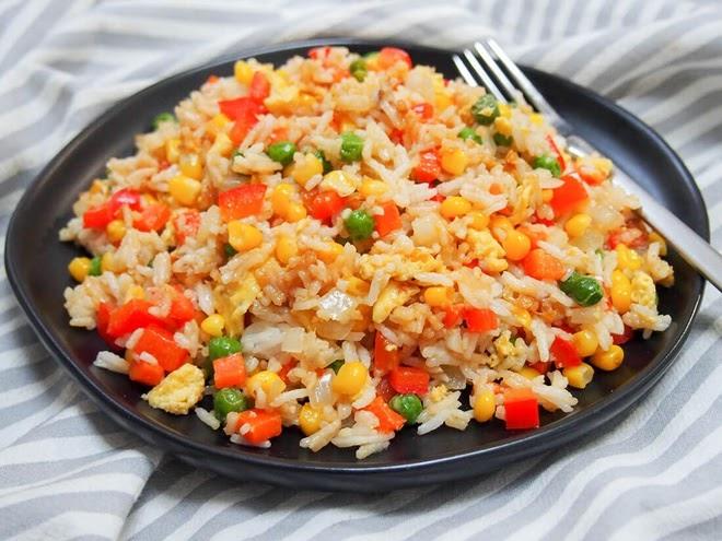 Món cơm rang ngon tuyệt đỉnh - Ăn là ghiền