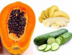 Một số loại thực phẩm quen thuộc giúp giảm cân sau sinh hiệu quả