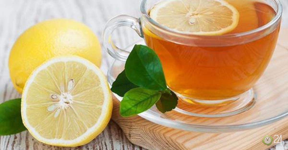 Nước chanh ấm mật ong loại bỏ độc tố trong cơ thể