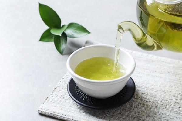 Nước trà xanh tươi mát