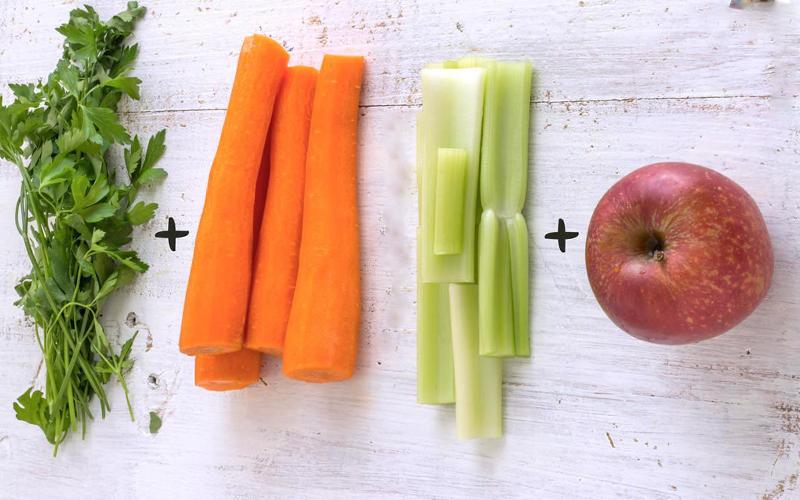 Phương pháp giảm cân sau sinh bằng sinh tố cần tây số 1