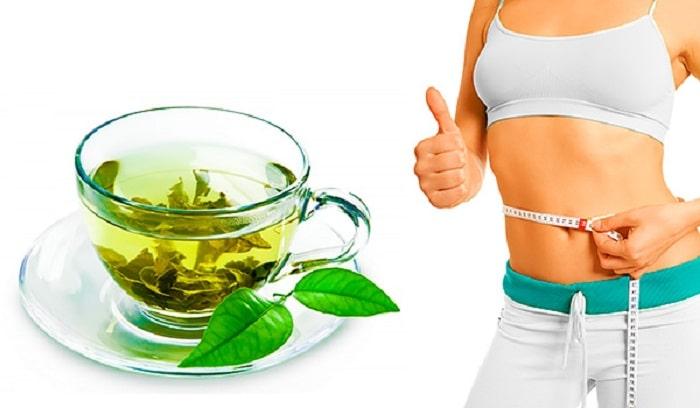 Uống trà xanh để giảm cân nhanh