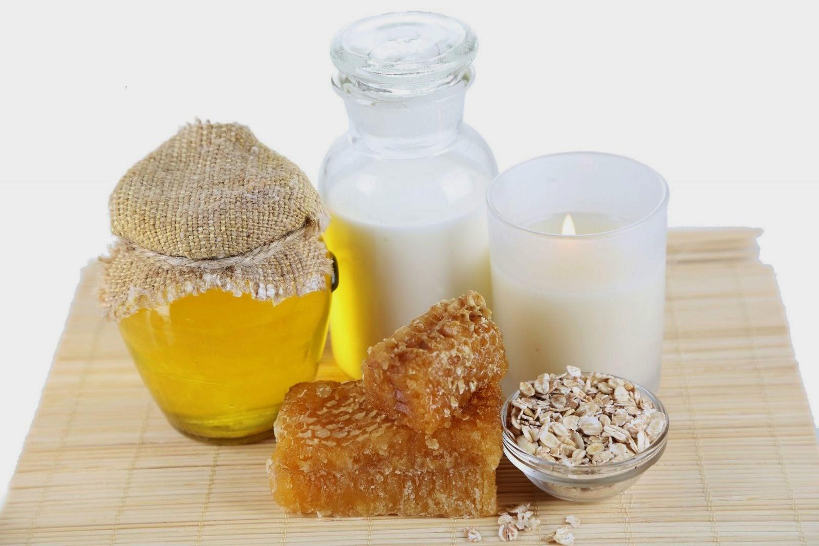 Kết hợp của mật ong và lúa mạch